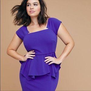 NWT Berry blue LANE BRYANT dress
